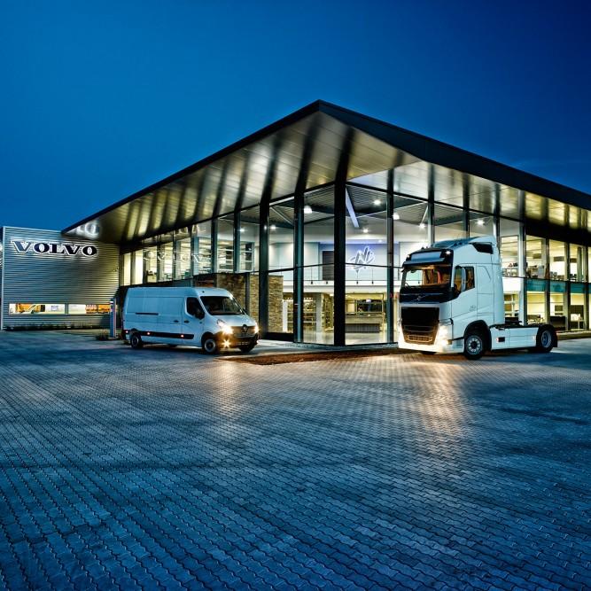 Corporate fotografie Volvo